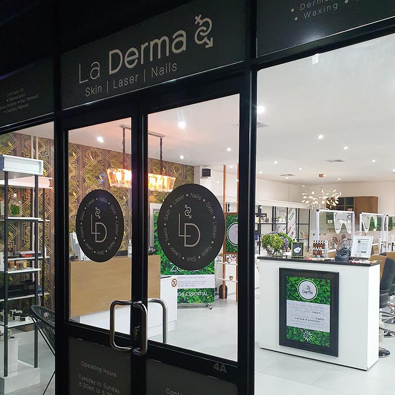 La Derma Shop Front