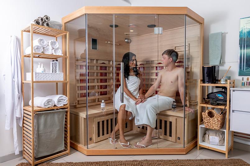 Sauna Session - couple - La Derma